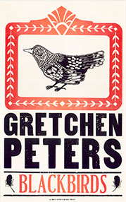 Gretchen Peters Blackbirds Poster