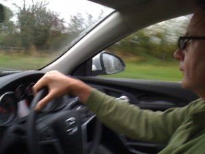 Barry Walsh, driving on the left-hand side