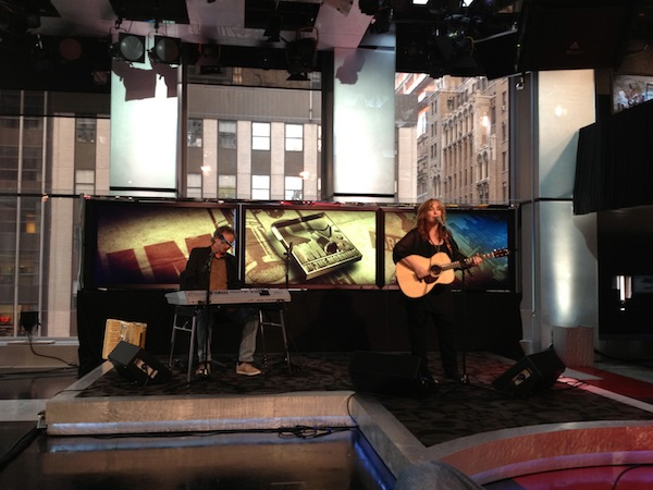 Imus in the Morning TV show, NYC January 2012