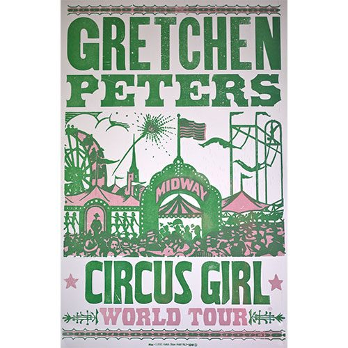 Gretchen Peters - Circus Girl Poster