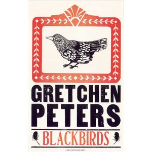 Gretchen Peters - Blackbirds Poster
