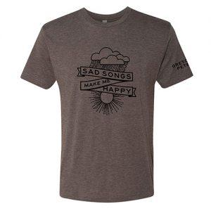 Gretchen Peters - Sad Songs Make Me Happy T-shirt