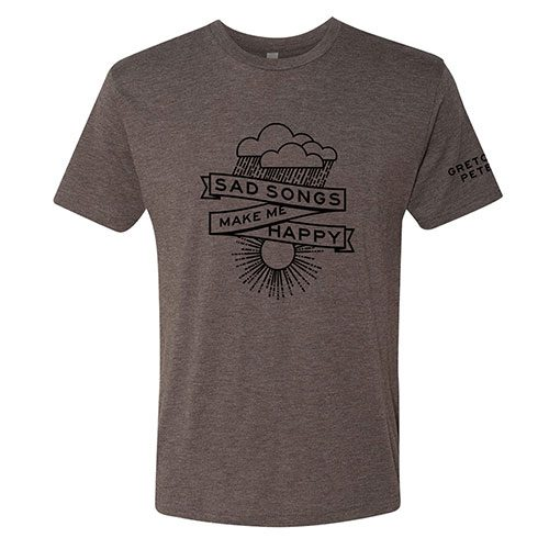 Gretchen Peters - Sad Songs Make Me Happy T-shirt